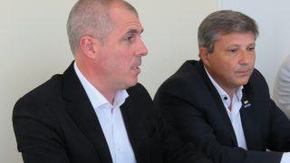 Darío Brasca y Marcelo Stehli.